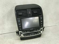 2004-2014 ACURA TSX CD CHANGER AUDIO CLIMATE CONTROL ASSEMBLY OEM LOT387