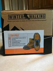 New Winter Walking Low-pro Ice Cleats Xx-large Reduce Falls This Winter