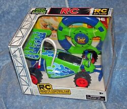 Disney Store Pixar Toy Story Rc Remote Control Car Real Racing Action 27 Mhz