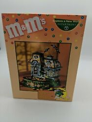 New Dept 56 Mandmand039s Spooky House Halloween Lighted House And Candy Dish In Box
