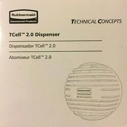 6 Rubbermaid Commercial Products Tcell 2.0 Dispenser Technical Concepts 1957532
