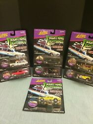 Collector Edition Fright'ning Lightnings Ghost Busters Ecto1a Full Set. B
