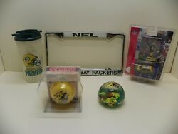 Nfl Green Bay Packers Fan Pack Collectibles And Souvenirs Set Of 5