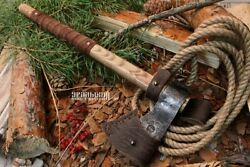 Axe. Tomahawk. Hand-forged, Gift For Someone Special. Hatchet For Hiking Camping