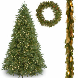 7 12' Jersey Fraser Fir Hinged Tree with 6' x 12