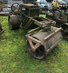 Vintage Cricket Roller With Ford Engine Ground Roller Feature