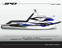 Ipd Jet Ski Graphic Kit For Kawasaki 650sx Gh Design