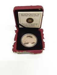 Fine Silver 2013 Coin- The Bald Eagle Portrait Of Power- Royal Canadian Mint