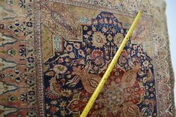 Rare S. Antique Kayseri Anatolian Rug Circa 1920and039s Finely Knoted