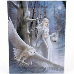 Anne Stokes Midnight Messenger Canvas Art Print by Anne Stokes 7 x 10 $16.95