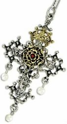 Eastgate Resource Hampton Court Rosy Cross for Faith and Devotion Amulet $22.95