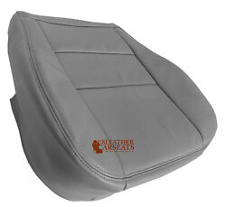 Fits 2000 To 2004 Toyota Sequoia Tundra Driver Bottom Seat Cover Leather Gray