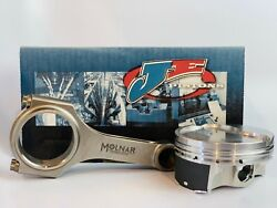 Je Srp Pro Dish Pistons Molnar Mw 6.000 Rods For 4.000 Chevy 350 4.000 10.91