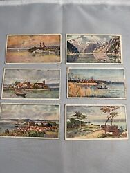 Victorian Advertising Trade Card Lot German Germany Scenic Litho Berchtesgaden
