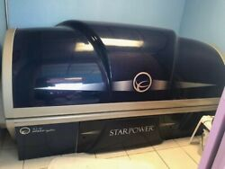 Ets Star Power 52-4 With Shoulder Tanner Lamps 12 Min Tanning Bed