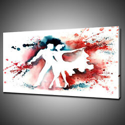 Abstract Dancing Couple Canvas Picture Print Wall Hanging Art Home Decor