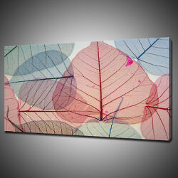 Abstract Leaves Canvas Picture Print Wall Hanging Art Home Decor Free Delivery