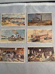 Victorian Advertising Trade Card Lot German Amber Recovery Process 1900 Litho