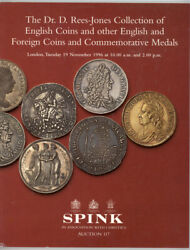 Spink 1996 'rees-jones Collection' English Coin Medal Auction Catalog Reference