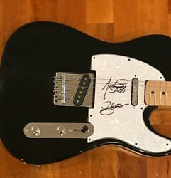Bad Religion Signed Electric Guitar Jay Bentley And Brian Baker 2