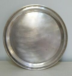 Vintage Tiffanyandco Sterling Silver Tray 21253 Weights Over 612 Grams