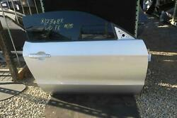 2010-2014 FORD MUSTANG Right Front Door electric Conv silver OEM 2013