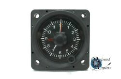 New Old Stock Mitchell Aircraft Manufacturing Analog Clock P/n 99500-elt.