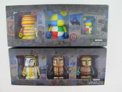 Disney WDW 40 Years 6 x 3quot; Vinylmations Park 7 TAPESTRY OF NATIONS Parade Set