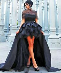 Evening Formal Black Flower Girl Dress Delivery In About 18 Days