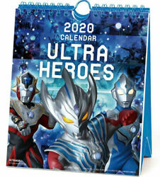 ULTRA HEROES WEEKLY  Calendar 2020 Size18x15cm 54sheets FULL COLOR  From Japan