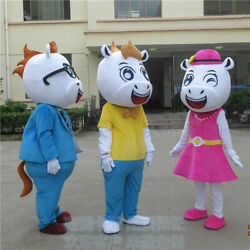 Horse Mascot Costume High Quality Outfit Adult Anime Gift For Christmas Party @@