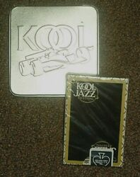 Kool Jazz Playing Cards New Deck And Kool Cigarette Formula 1 Tin 1999 Look At And039em