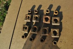 Dodge Chrysler Plymouth Desoto 1920and039s 1930and039s Wood Wheel Lugs Bolts 4