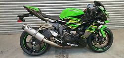 2019 Kawasaki Zx6r 636 60mm Motorbike Road-legal/race Exhaust Muffler And Hanger
