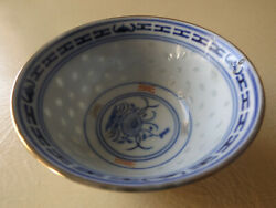 Rare Design Model Special Chinese Dish Blue Chip Christmas Gift Antique