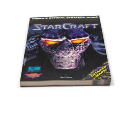 Starcraft Primas Official Strategy Game Guide Book Single Multi Player
