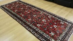 Large Oriental Hand Knotted Wool Hall Rug Runner Oriental Room Floor Decor