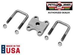 Front Leaf Spring Plate Axle U-bolt Clamp Kit For 1928-1934 Ford - Made In Usa