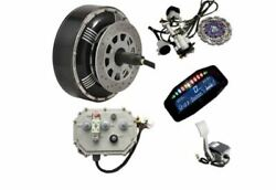 High Powered 6kw 72v Electric Car E-car Brushless Gearless Conversion Kit New