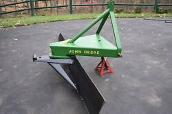 Commercial Rear Grader/plow Blade John Deere / Ford, 3 Point Hitch Cat 1