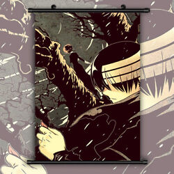 Soul Eater Death The Kid Hd Canvas Print Wall Poster Scroll Room Decor
