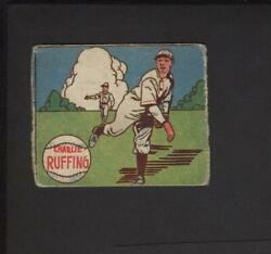 1943 M. P. And Co. Charlie Ruffing No Ad Back No In Made _ Usa Variety