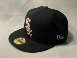 CHICAGO WHITE SOX NEW ERA 59FIFTY CUSTOM FITTED CAP HAT SZ 7 14 *SHIPS IN BOX*