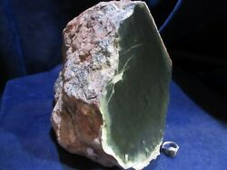 Wyoming Nephrite / Jade - Rare Old Stock Piece - Great Carving Rock - 24.6