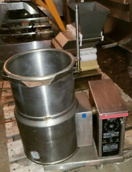 Market Forge Ft6ce Jacketed Tilting Kettle 6 Gallon Electric Soup Steam