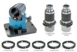 Countersink And Drill Point Grinding Attachment Cm-06 Dcs With Cbn Face Wheel