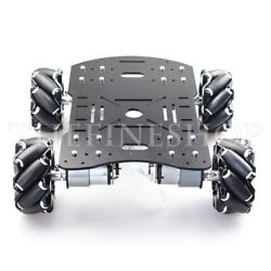 4wd 60mm Robot Car Chassis Kit With Suspension For Arduino Raspberry Pi Diy Toy