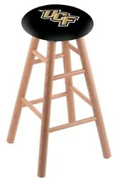 Holland Bar Stool Co. Oak Counter Stool In Natural Finish With Central Florid...