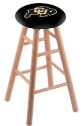 Holland Bar Stool Co. Oak Counter Stool In Natural Finish With Colorado Seat ...