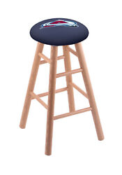 Holland Bar Stool Co. Oak Counter Stool In Natural Finish With Colorado Avala...